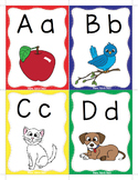 Alphabet - Keyword Flash Cards