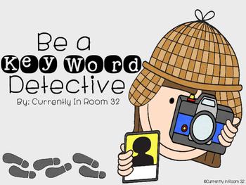 Key Word Detectives
