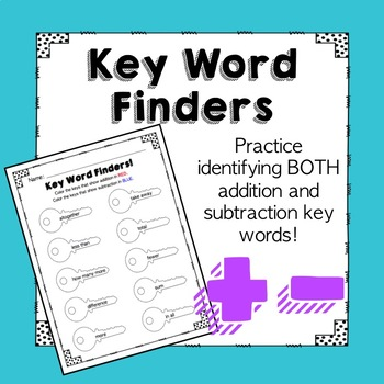 Key Word Finders