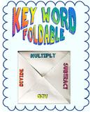 Key Word Foldable
