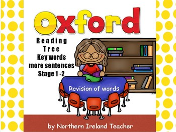 Key Word Revision - Oxford Reading Tree Stage 1 & 2