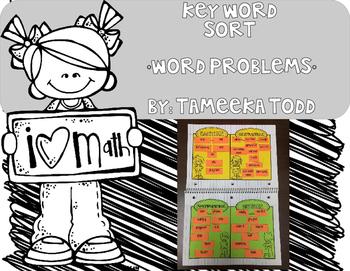 Key Word Sort (Word Problems)