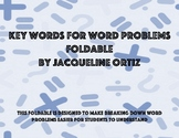 Key Words For Word Problems Foldable