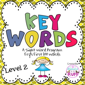 Fry's Sight Words 1-100