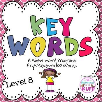 Fry's Sight Words 601-700