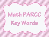 Math PARCC Key Words