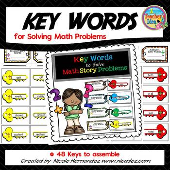 Problem Solving - Key Words to Solve Math Problems