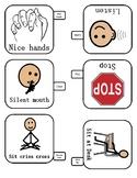 Key chain icons for behavior