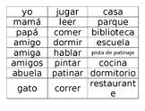 Key elements Spanish Freebie