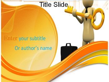 Key of Success PowerPoint Template