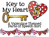 Key to My Heart {a parts of speech center}