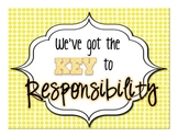 Responsibility- Character Education