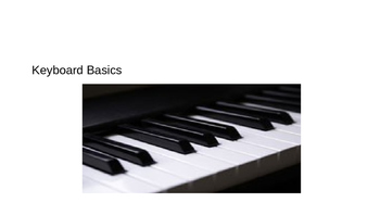 Keyboard Basics