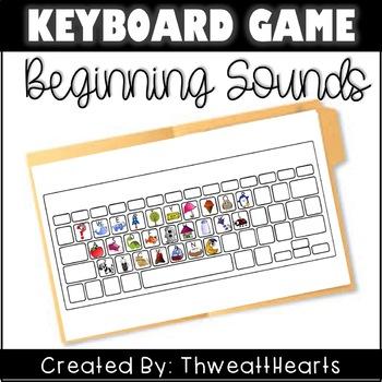 Keyboard Beginning Sounds - Game