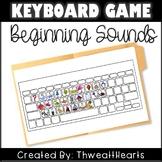 Keyboard Beginning Sounds Game
