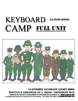 Keyboard Camp (FULL UNIT ALL EIGHT BOOKS!)