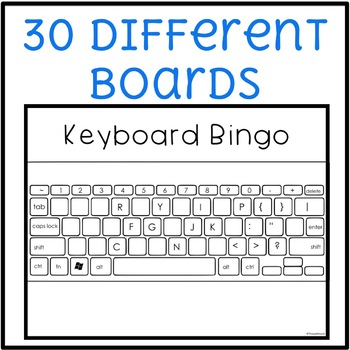 Keyboard Bingo Game