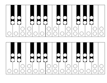 keyboard enharmonics chromatic scale worksheet by mike richardson. Black Bedroom Furniture Sets. Home Design Ideas