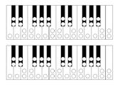 Keyboard Enharmonics Chromatic Scale Worksheet