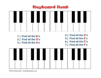 Keyboard Hunt