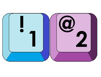 Keyboard Keys: Letter, Numbers, and More...