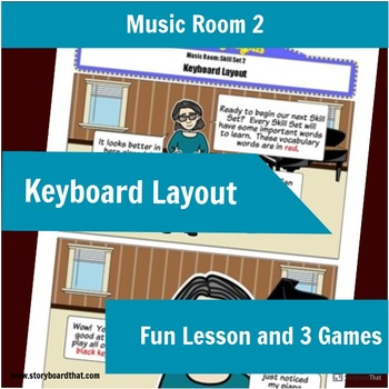 Music Room 2:Keyboard Layout