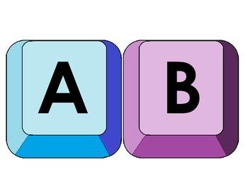 Keyboard Letter Keys