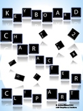 Keyboard Letters and Characters Clip Art (Pack of 92!)