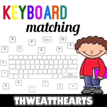 Keyboard Matching Game