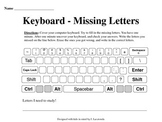 Keyboard ~ Fill in the Missing Letters