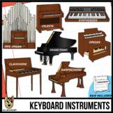 Keyboard Musical Instrument Clip Art