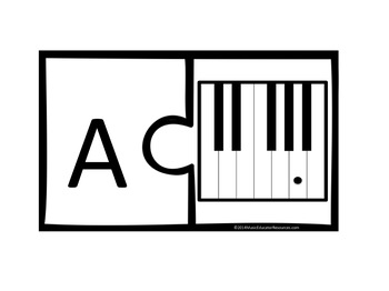 Keyboard Notes Puzzle