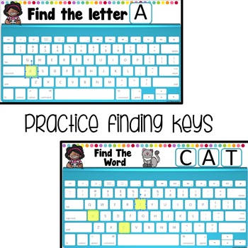 Keyboard Practice for Digital Learning  Distance Learning