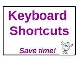 Keyboard Short-Cut Posters