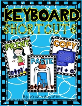 Keyboard Shortcut Posters