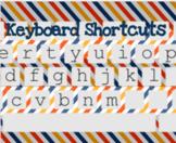 Keyboard Shortcut Practice Activity