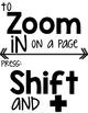 Keyboard Shortcuts Display Posters