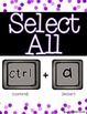 Keyboard Shortcuts for PC Computers {Posters}