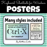 Keyboard Shortcuts for Windows (Posters)