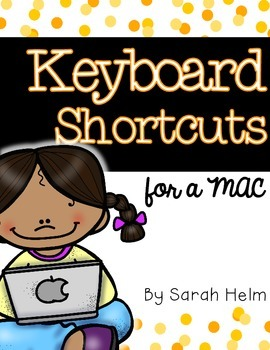 Keyboard Shortcuts for a MAC Computer {Posters}