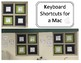 Keyboard Shortcuts for a Mac