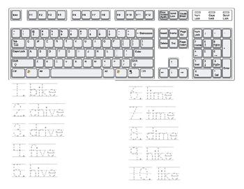 Keyboard Sing, Type, Write FREEBIE
