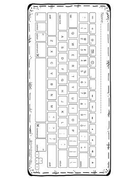 Typing Practice Printable Keyboards