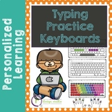 Typing Practice Printable Keyboards