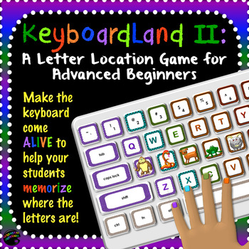 Computer Keyboarding Practice Game: KeyboardLand Adventure