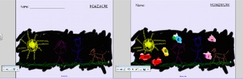 Keyboarding Activity - Reveal a Key - Smart Board Activity