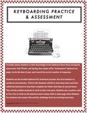 Keyboarding Assessment and Practice