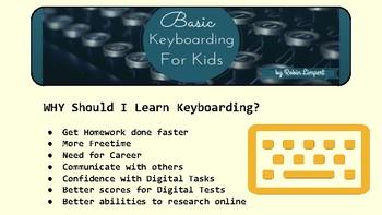 Keyboarding Basics For Kids