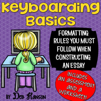 Keyboarding Basics PowerPoint: Formatting Rules when Constructing an Essay