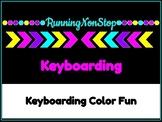 Keyboarding Color Fun